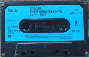 Eagles: Their Greatest Hits 1971-1975 (Tape) - Bild 4