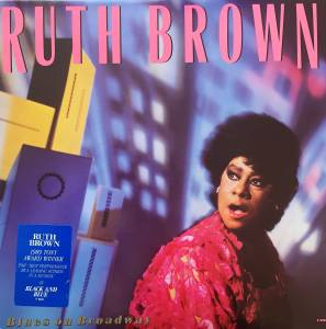 Cover - Ruth Brown: Blues On Broadway