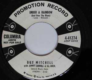 Cover - Guy Mitchell: Under A Rainbow (And Over The Blues)