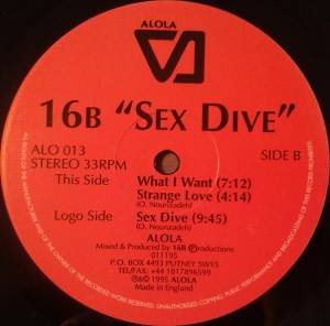 Cover - 16B: Sex Dive