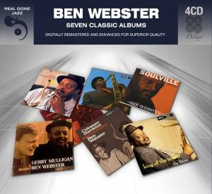 Ben Webster: Seven Classic Albums - Cover