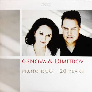 Cover - Anton Stepanowitsch Arenski: Genova & Dimitrov Piano Duo - 20 Years