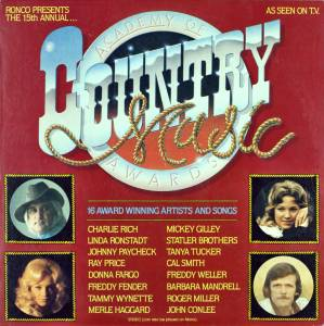 Cover - Mickey Gilley: 15th Annual Academy Of Country Music Awards
