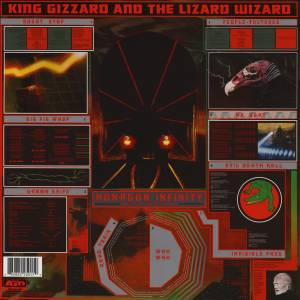 King Gizzard And The Lizard Wizard: Nonagon Infinity (LP) - Bild 2