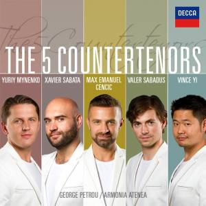 The 5 Countertenors (CD) - Bild 1