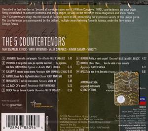 The 5 Countertenors (CD) - Bild 2