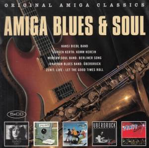 Cover - Hansi Biebl Band: Amiga Blues & Soul