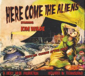Kim Wilde: Here Come The Aliens - Cover