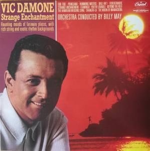 Cover - Vic Damone: Strange Enchantment