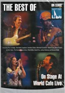 Cover - David Poe: Best Of On Stage At World Cafe Live, The