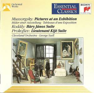 Cover - Zoltán Kodály: Pictures At An Exhibition / Hary Janos Suite / Lieutenant Kije Suite