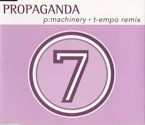 Propaganda: P-Machinery - Cover