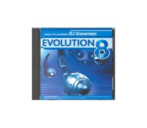 Cover - Svenson: Evolution 8 (Mixed By DJ Snowman)