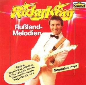Cover - Ricky King: Russland-Melodien