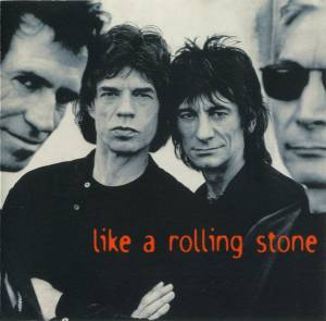 The Rolling Stones: Like A Rolling Stone (Single-CD) - Bild 1