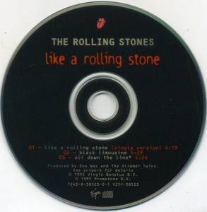 The Rolling Stones: Like A Rolling Stone (Single-CD) - Bild 3