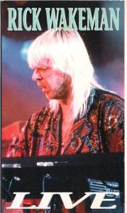Cover - Rick Wakeman: Live