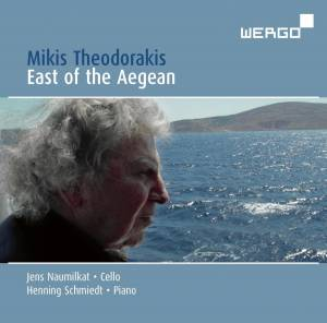 Mikis Theodorakis: East Of The Aegean - Cover