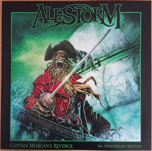 Cover - Alestorm: Captain Morgan's Revenge: 10th Anniversary Edition