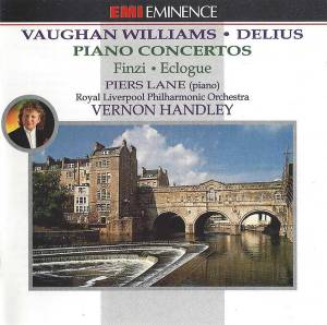 Ralph Vaughan Williams: Piano Concertos - Cover