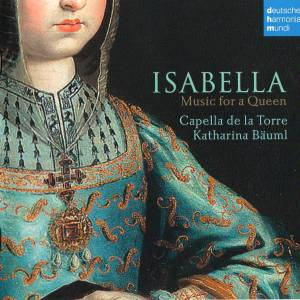 Cover - Juan de Urrede: Isabella - Music For A Queen