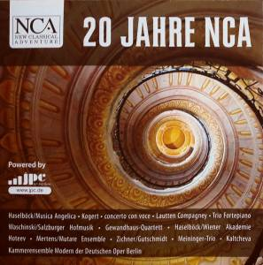 Cover - William Byrd: 20 Jahre NCA