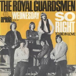 Cover - Royal Guardsmen, The: Wednesday