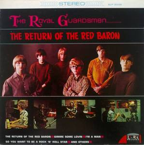 Cover - Royal Guardsmen, The: Return Of The Red Baron, The
