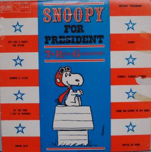 Cover - Royal Guardsmen, The: Snoopy For President