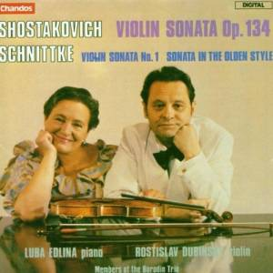 Cover - Alfred Schnittke: Violin Sonata Op. 134 / Violin Sonata No. 1 / Sonata In The Olden Style