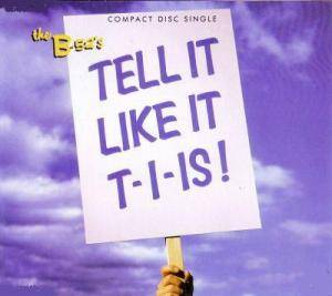 The B-52's: Tell It Like It T-I-Is! - Cover