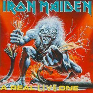 Iron Maiden: Real Live One, A - Cover