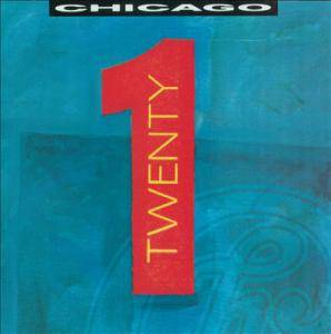 Chicago: Twenty 1 - Cover