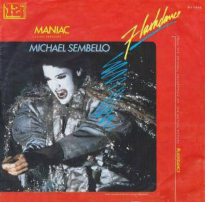 Michael Sembello: Maniac - Cover