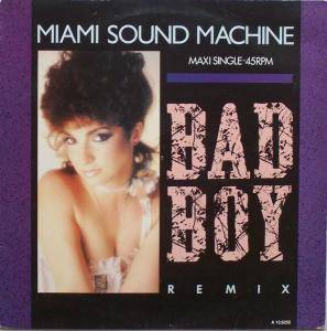 Miami Sound Machine: Bad Boy - Cover