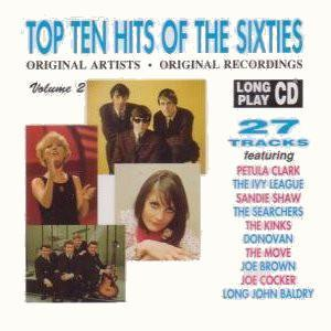 Top Ten Hits Of The Sixties - Volume 2 - Cover