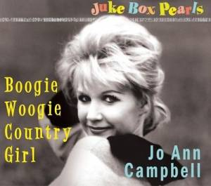 Cover - Jo Ann Campbell: Boogie Woogie Country Girl