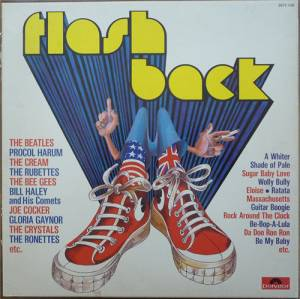 Cover - Bob B. Soxx & The Blue Jeans: Flash Back