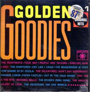 Cover - Valentines, The: Golden Goodies Vol.1