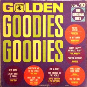 Cover - Edsels, The: Golden Goodies - Vol. 10