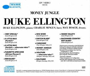 Duke Ellington, Charles Mingus & Max Roach: Money Jungle (CD) - Bild 2