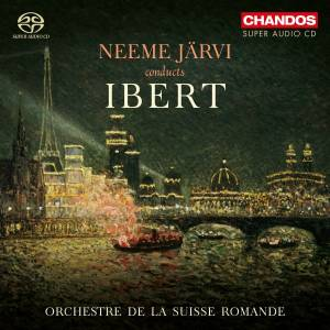 Cover - Jacques Ibert: Neeme Järvi Conducts Ibert