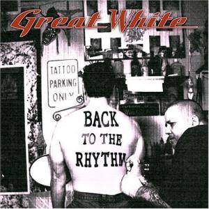 Great White: Back To The Rhythm - Cover