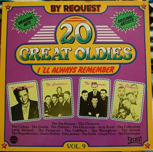 Cover - Big Bopper, The: 20 Great Oldies - I'll Always Remember Vol. 9