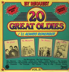 Cover - Spaniels, The: 20 Great Oldies - I'll Always Remember Vol.27