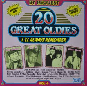 Cover - Little Anthony & The Imperials: 20 Great Oldies I'll Always Remember Vol. 4