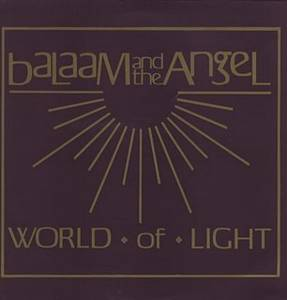 Cover - Balaam & The Angel: World Of Light