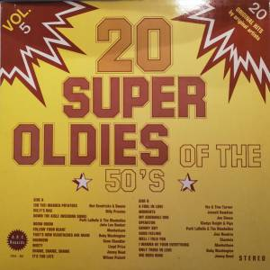 Cover - Billy Preston: 20 Super Oldies Of The 50's Vol. 5