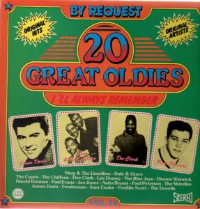Cover - Dovells, The: 20 Great Oldies - I'll Always Remember Vol.14