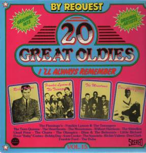 "Cover - Dave ""Baby"" Cortez: 20 Great Oldies - I'll Always Remember Vol.15"